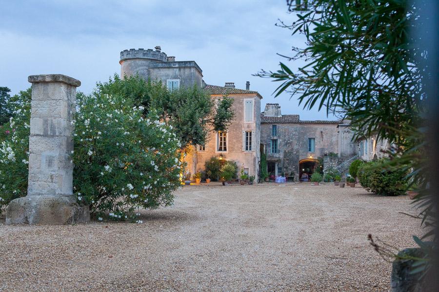Mariage au chateau du Pouget