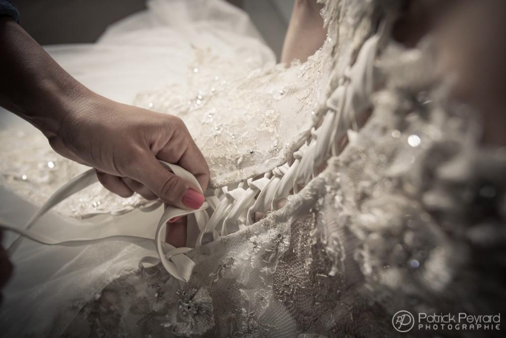habillage-mariée