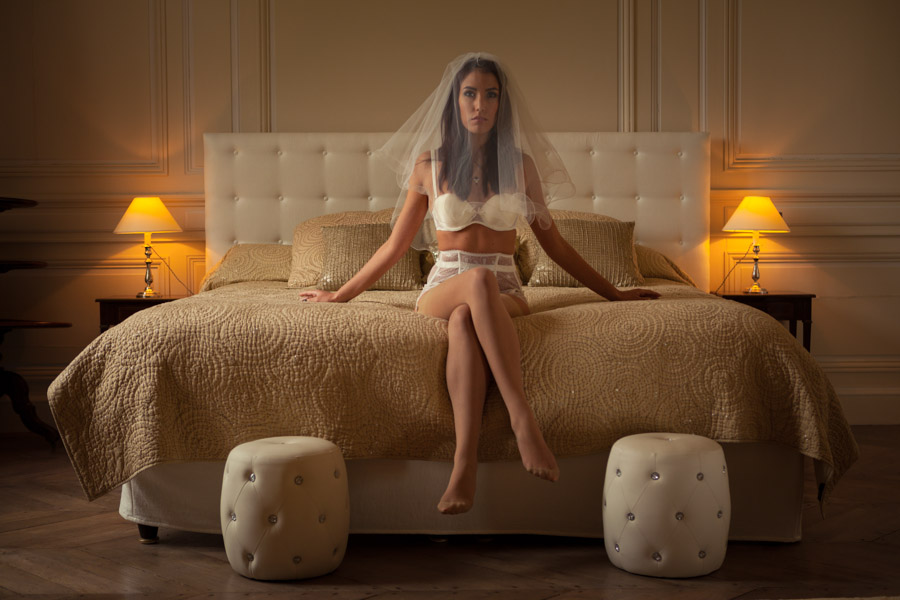 photographe boudoir de la mariée