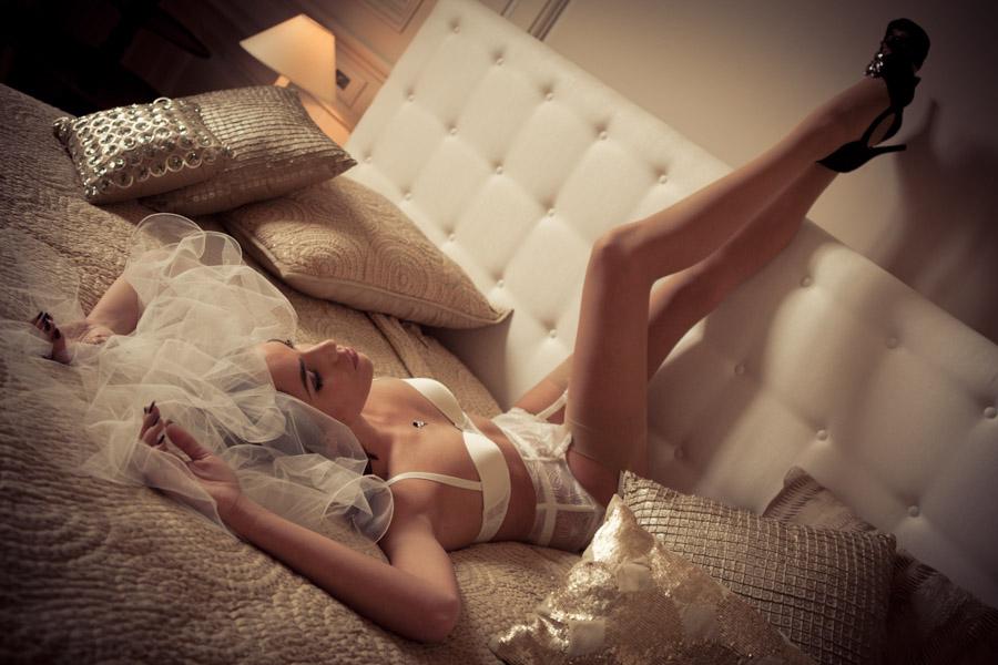 idée mariage - le boudoir de la mariée