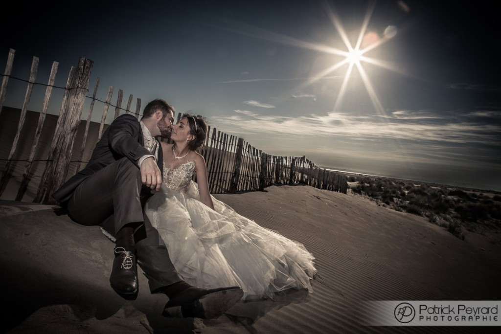photographe mariage montpellier - le trash the dress