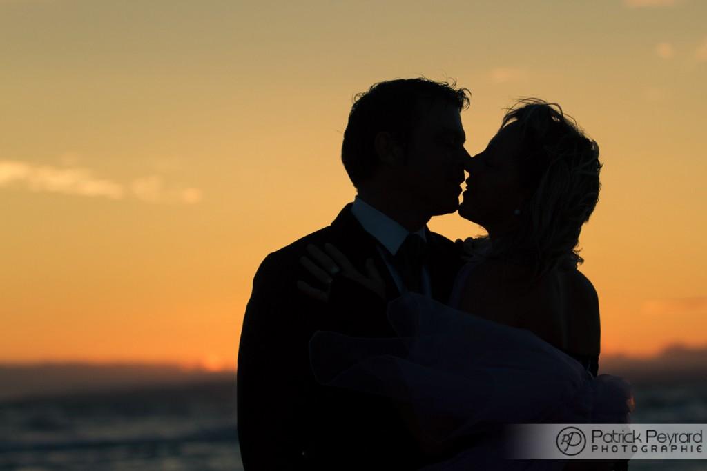 photographe mariage narbonne couché de soleil