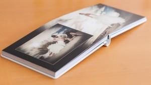 livre de mariage Graphistudio - ouverture à plat pour des images grand format